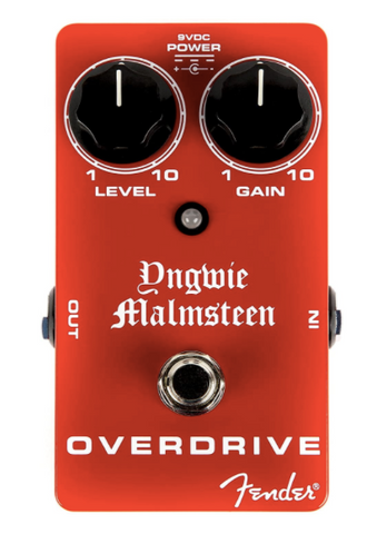 Fender Yngwie Malmsteen Overdrive Pedal - American Music