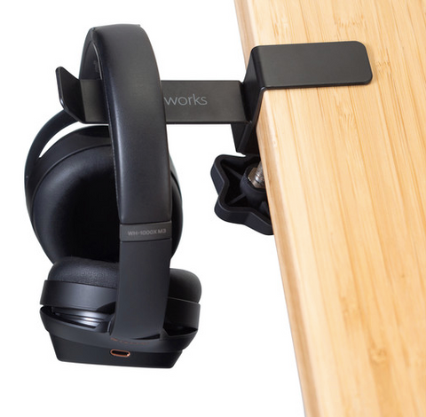 Headphone Hanger for Desks