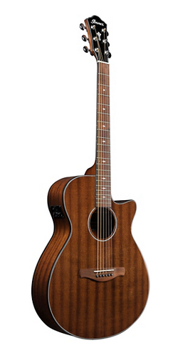 Ibanez AEG62 Grand Concert Acoustic-Electric Guitar Natural Mahogany - American Music