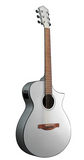 Ibanez AEWC10 Acoustic-Electric Guitar Silver High Gloss