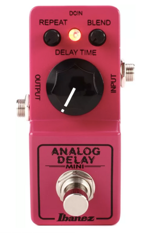 Ibanez Analog Delay Mini Guitar Effects Pedal