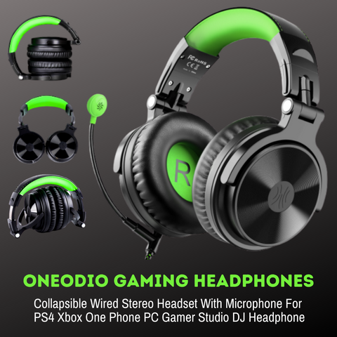 OneOdio G Studio Headphones - American Music