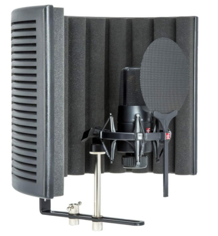 SE Electronics X1 S Studio-Mic, Pop Filter & Isolation Shield