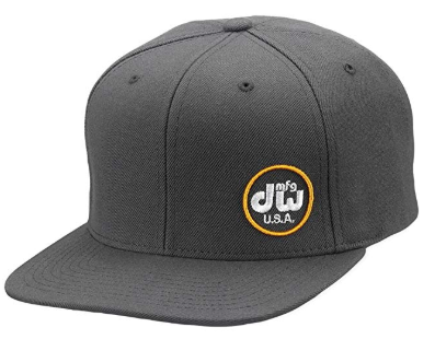 DW Drums Snapback Hat in Grey