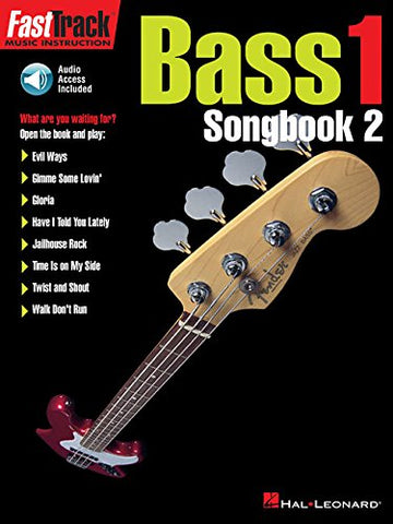 Hal Leonard Fast Track Bass 1 Songbook 2 (CD Included)