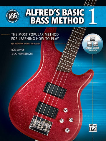 Alfred Music Basic Bass Method, Book 1 (CD Included)