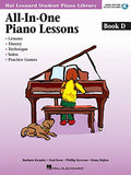 Hal Leonard Student Piano Library - All-In-One Piano Lessons (Book D, CD Included)
