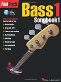 Hal Leonard Fast Track Bass 1 Songbook 1 (CD Included)