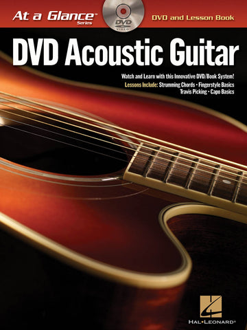 Hal Leonard At A Glance - DVD Acoustic Guitar (CD Included)