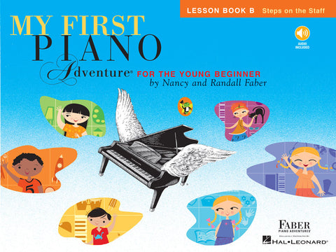 Hal Leonard Faber My First Piano Adventure - Lesson Book B (CD/Audio Included)