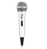 iRig Voice iOS/Android Handheld Microphone (White)
