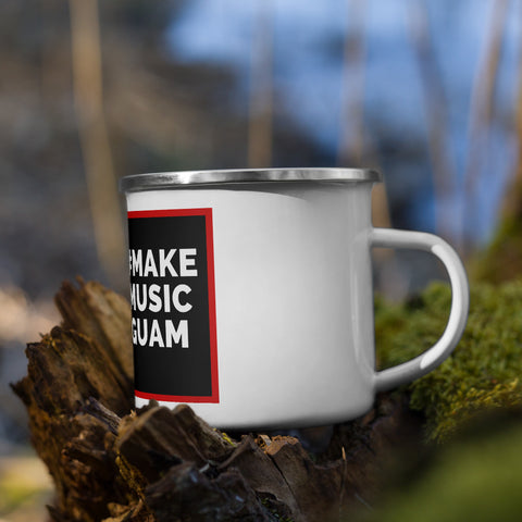 American Music's #MAKEMUSICGUAM Enamel Mug