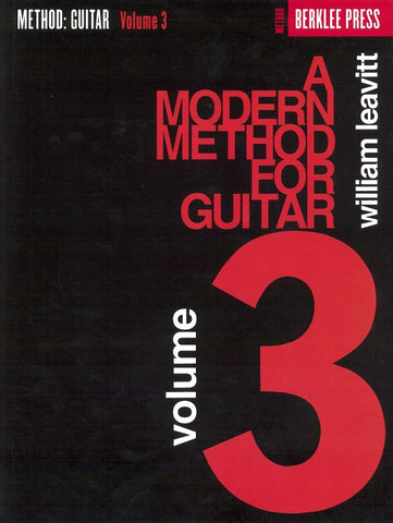 Berklee Press | A Modern Method for Guitar, Vol. 3