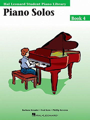 Hal Leonard Student Piano Library - Piano Solos (Book 4, CD Included)