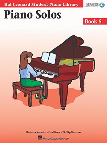 Hal Leonard Student Piano Library - Piano Solos (Book 5, CD Included)