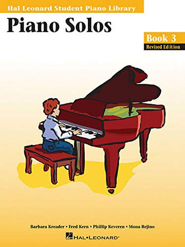 Hal Leonard Student Piano Library - Piano Solos (Book 3, CD Included)