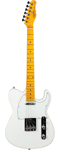 Tagima TW-55 Electric Guitar- Pearl White - American Music