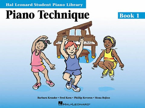 Hal Leonard Student Piano Library - Piano Technique (Book 1, CD Included)