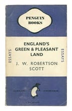Penguin Book Print - Englands Green and pleasant Land