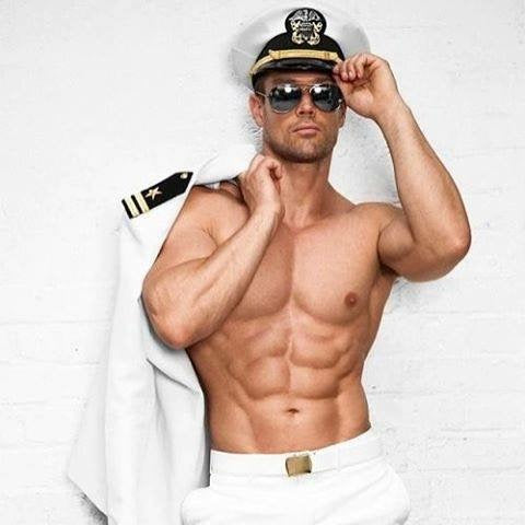 Hello Sailor Shirtless Sailor