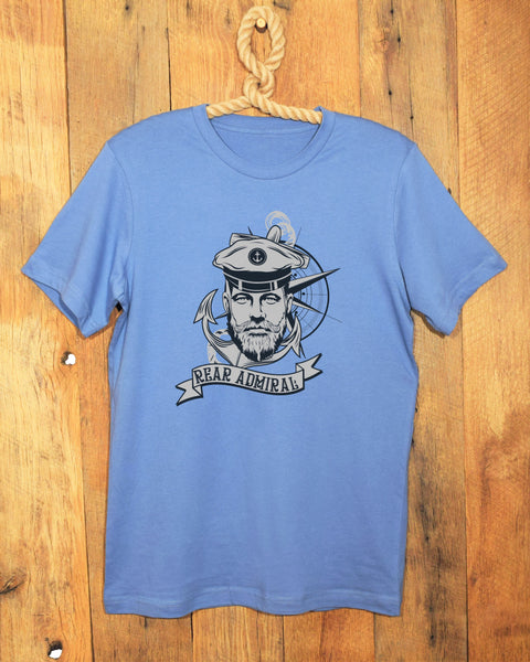 Blue Rear Admiral T-Shirt by Hello Sailor