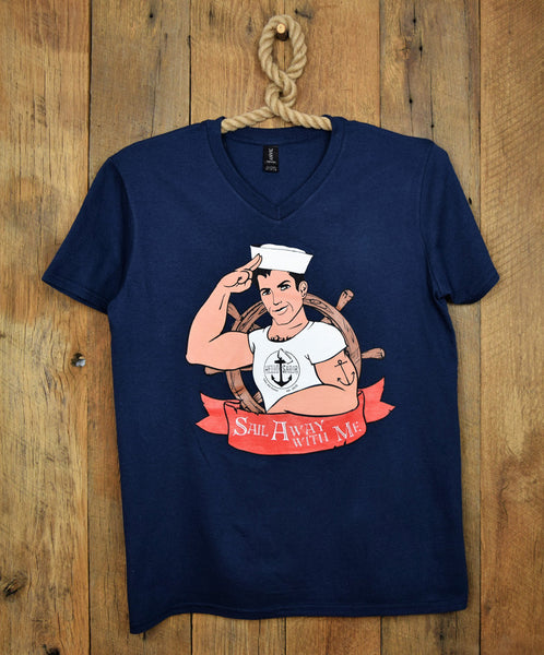 hello sailor blue sailor t shirt