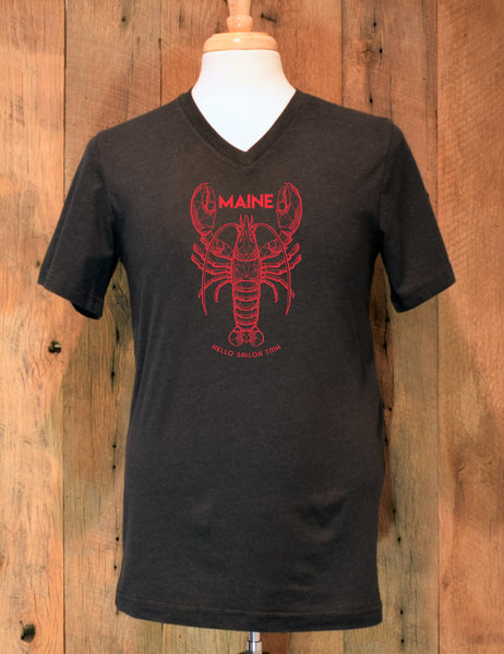 Black Lobster T-Shirt
