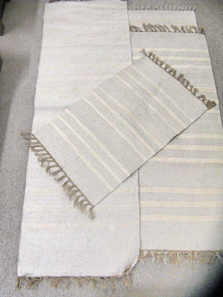 Natural Handloomed Rug
