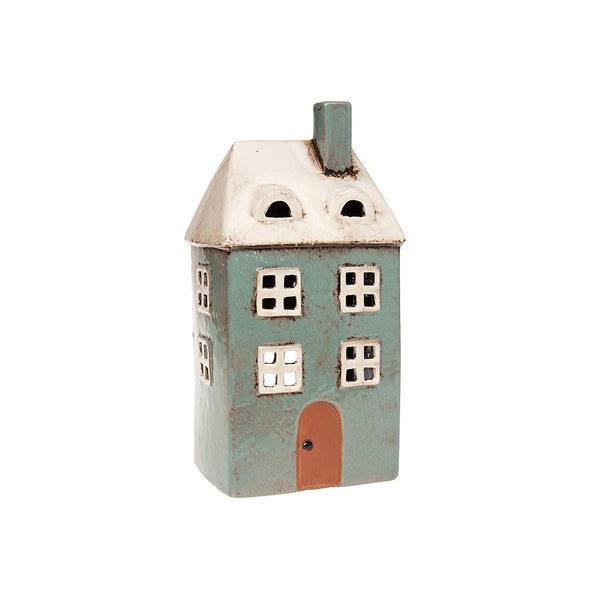 Village pottery tall house lantern
