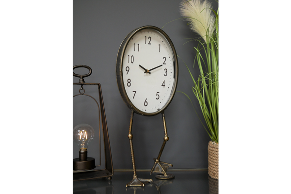 Bird Feet Clock