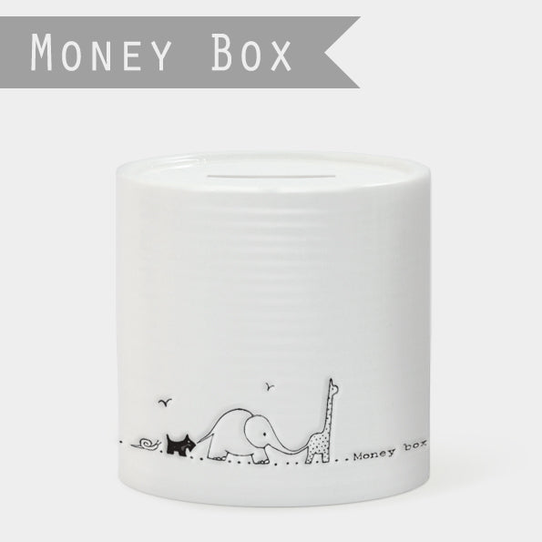 East of India China Moneybox in a Carboard Gift Box
