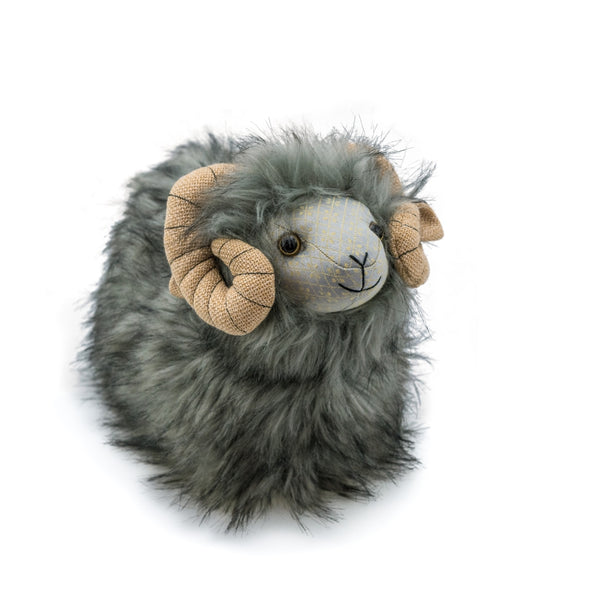 Heardy Ram Posh Door Stop by Dora Design