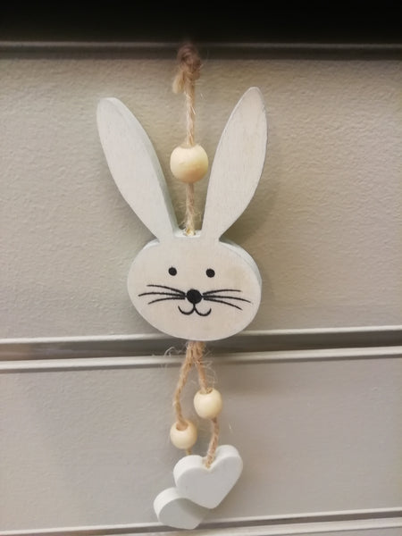 Hanging Easter Bunny Head