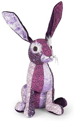 Patchwork Hare Door Stop by Dora Design
