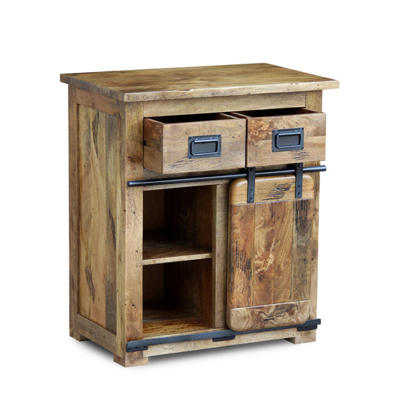 Industrial Mango Hall Cabinet