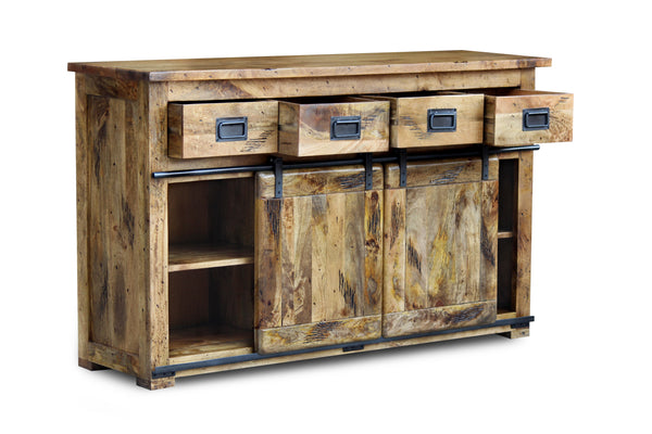 Industrial Mango Large Sideboard
