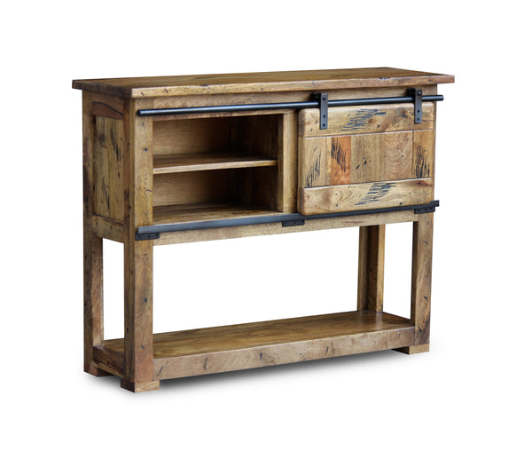 Industrial Mango Console Table