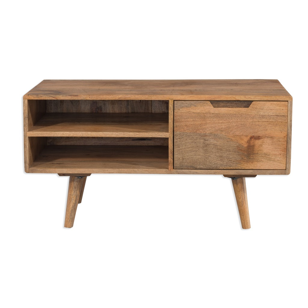 Contemporary Mango Coffee Table Tv Unit