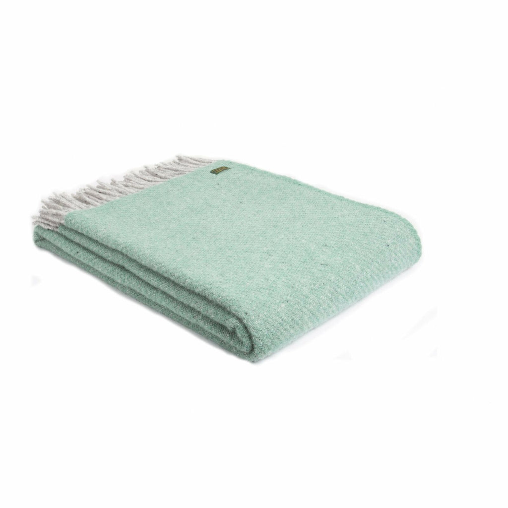 Tweedmill Lifestyle throw BOA Sea Green