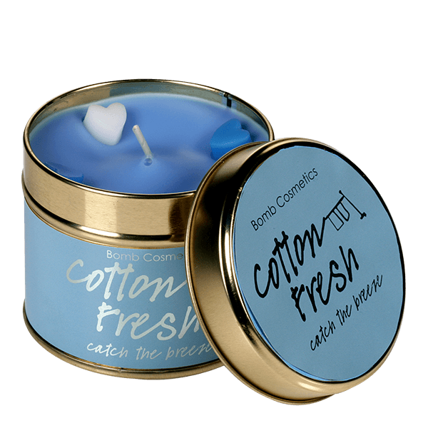 Cotton Fresh Scented Candle