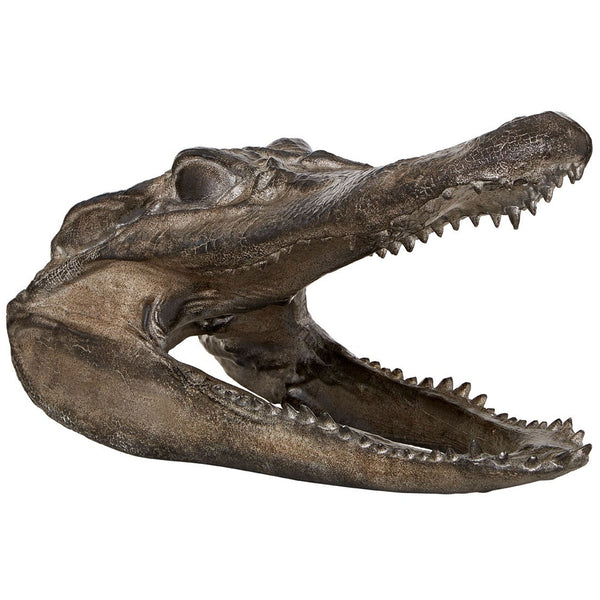 Crocodile Head Ornament
