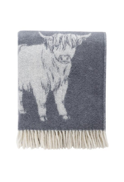 JJ Textille highland cow throw