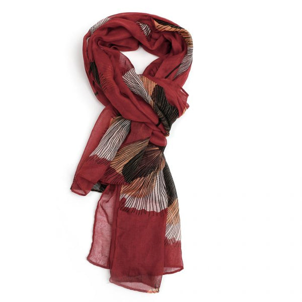 Autumnal Scarf Rust