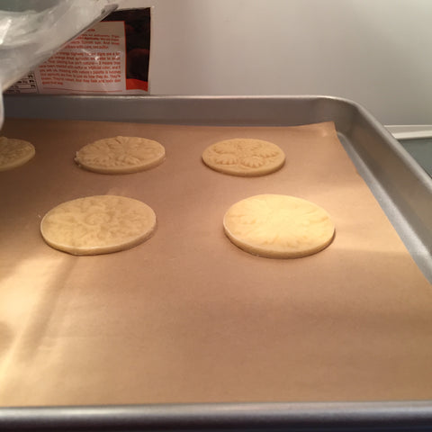 put springerle cookies in fridge to keep cold before baking tip