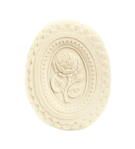 Oval Rose Springerle Mold