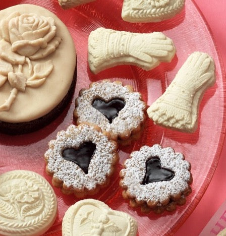 Linzer cookies from I Love Springerle