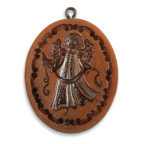 """Angel Angelica"" ~ Springerle Cookie Mold"