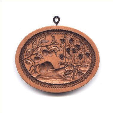 """Four Seasons AUTUMN"" ~ Springerle Cookie Mold"