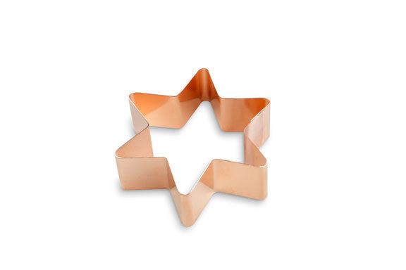 """Six Pointed Star"" ~ Custom Copper Cutter"