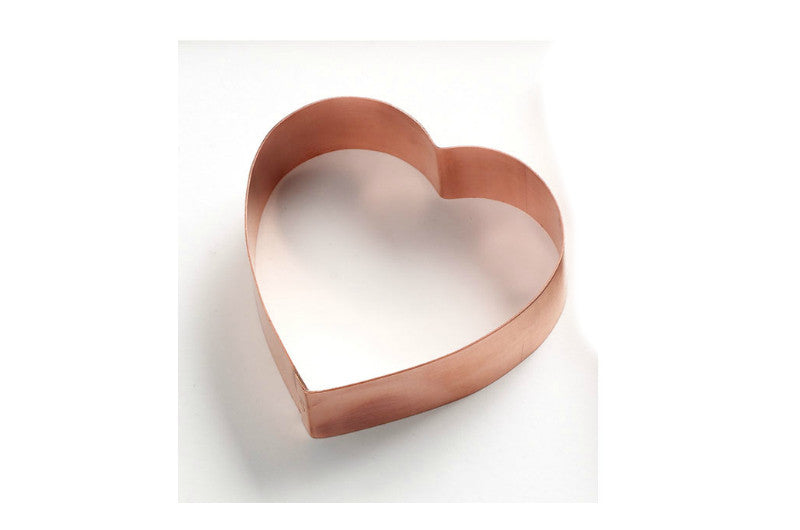 """Heart and Rose"" ~ Custom Copper Cutter"